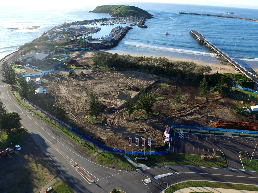 Coffs Harbour Jetty Foreshores Upgrade